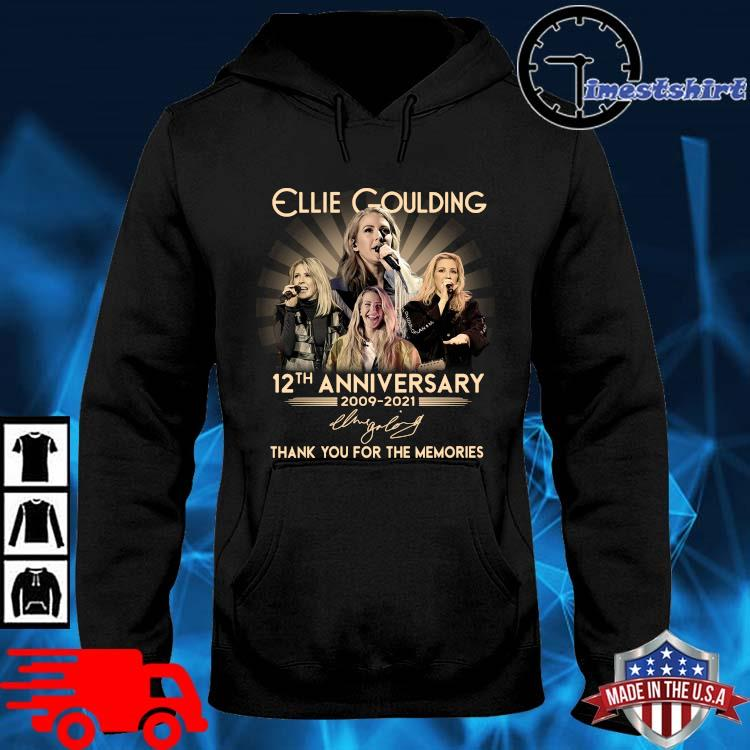 Ellie Goulding 12th anniversary 2009-2021 thank you for the memories signature hoodie den