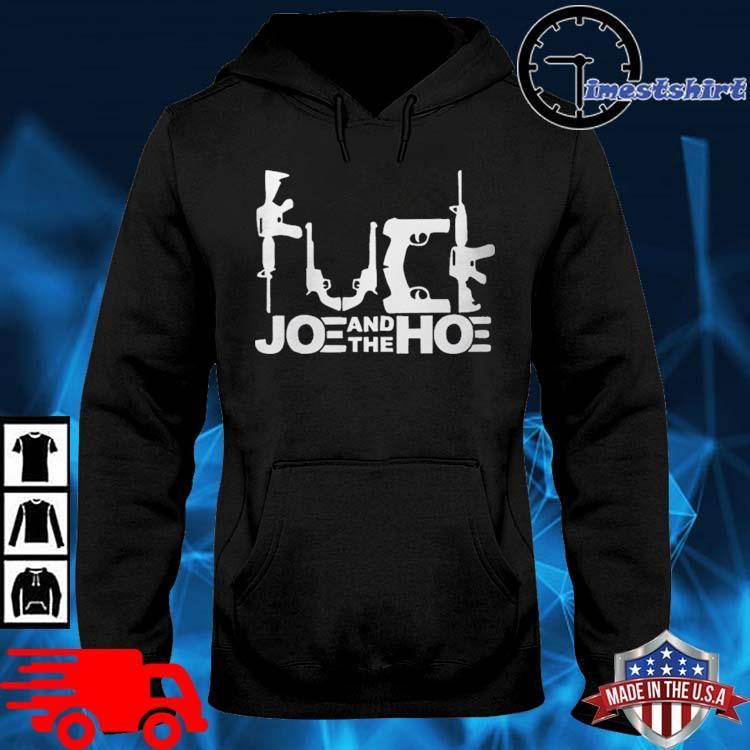 Fuck Biden Political FCK Gun Control Mens Shirt hoodie den