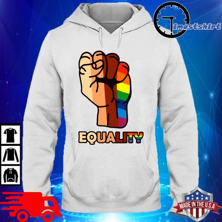 LGBT Hand Equality Shirt hoodie trang