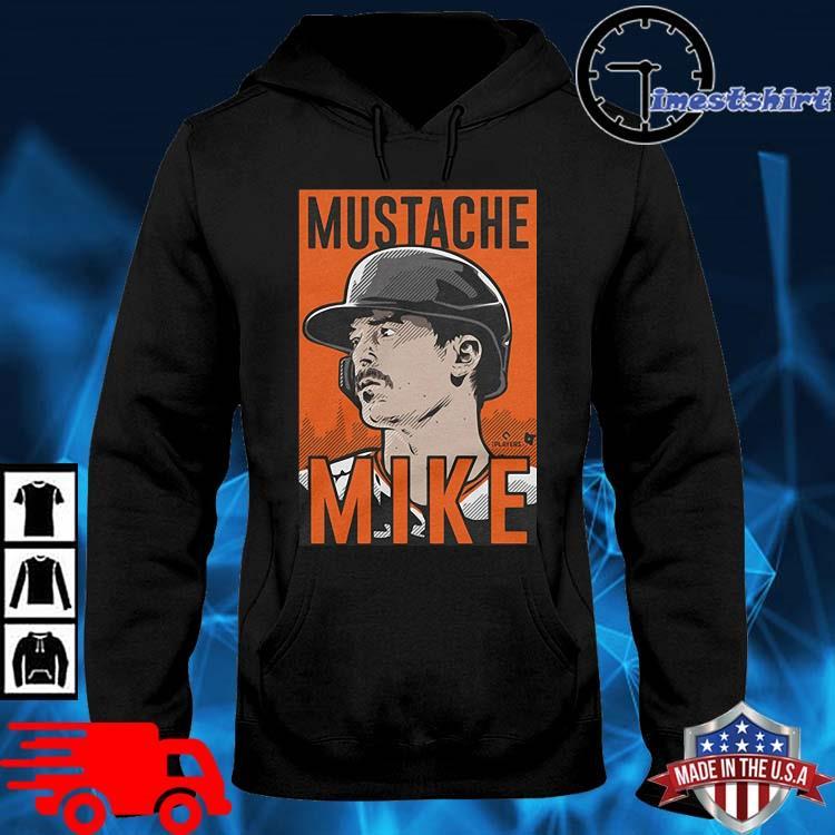 MUSTACHE MIKE T-s hoodie den